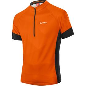 Löffler Rocks Half-Zip Bike Shirt Men, naranja